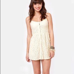 Volcom lace dress